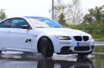 BMW M3 with Breyton Topas drift