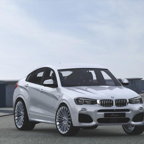 Race LS 2 on BMW X4 F26