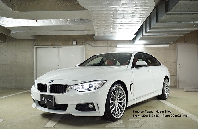 Topas - BMW 4 Series Gran Coupe 420d F36